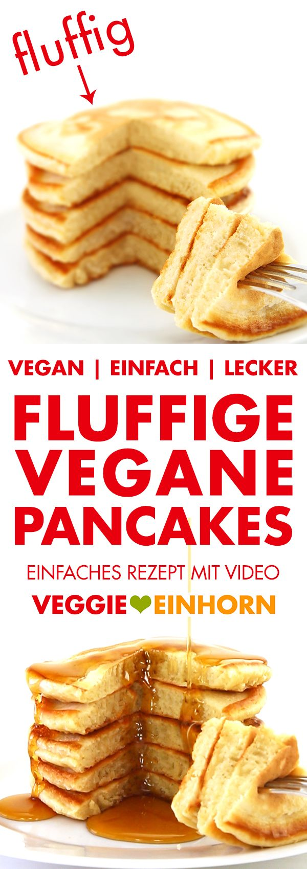 fluffige vegane pancakes rezept mhhh essen p pinterest vegane pfannkuchen pfannkuchen. Black Bedroom Furniture Sets. Home Design Ideas