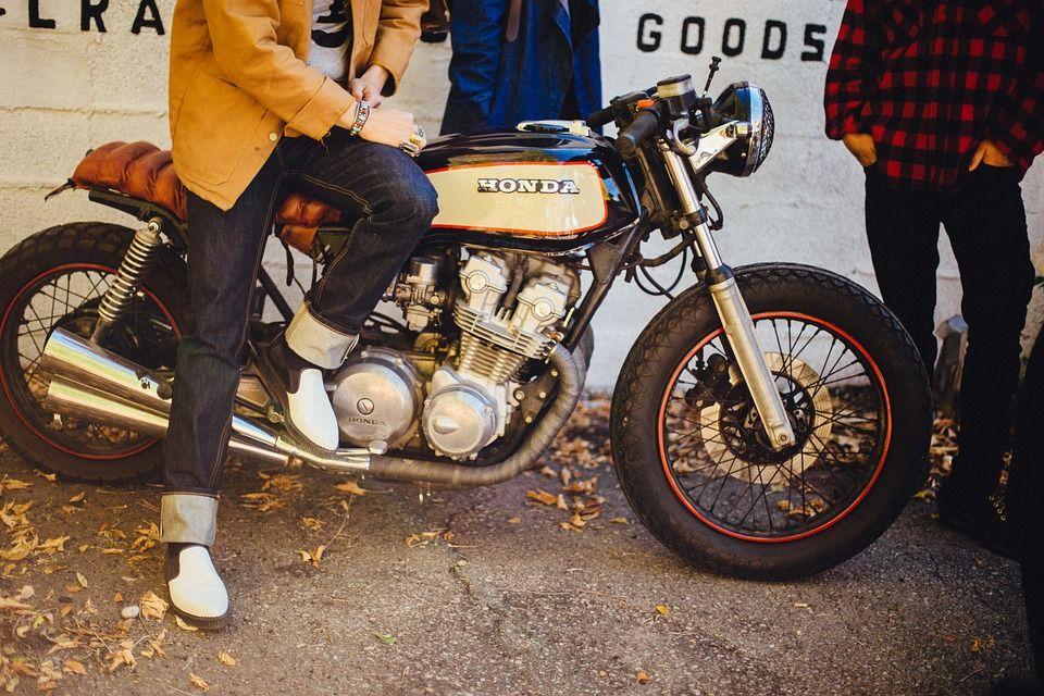 Honda, Motorbike, Motorcycle, Bike, People, Person