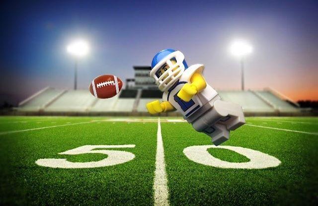 The football player . . . #legomadd #brickinsider ...