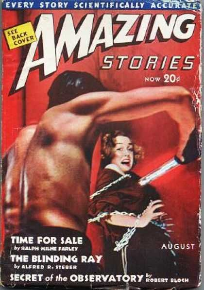 Amazing Stories August