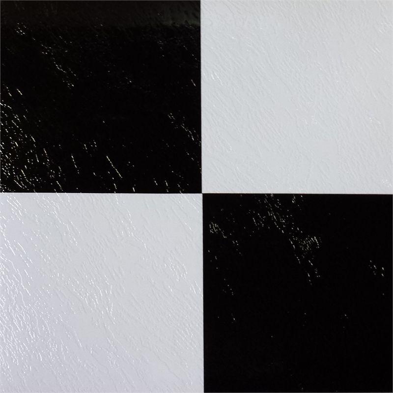 Winton Ideal Series 30.5 x 30.5cm BlackWhite Check Self