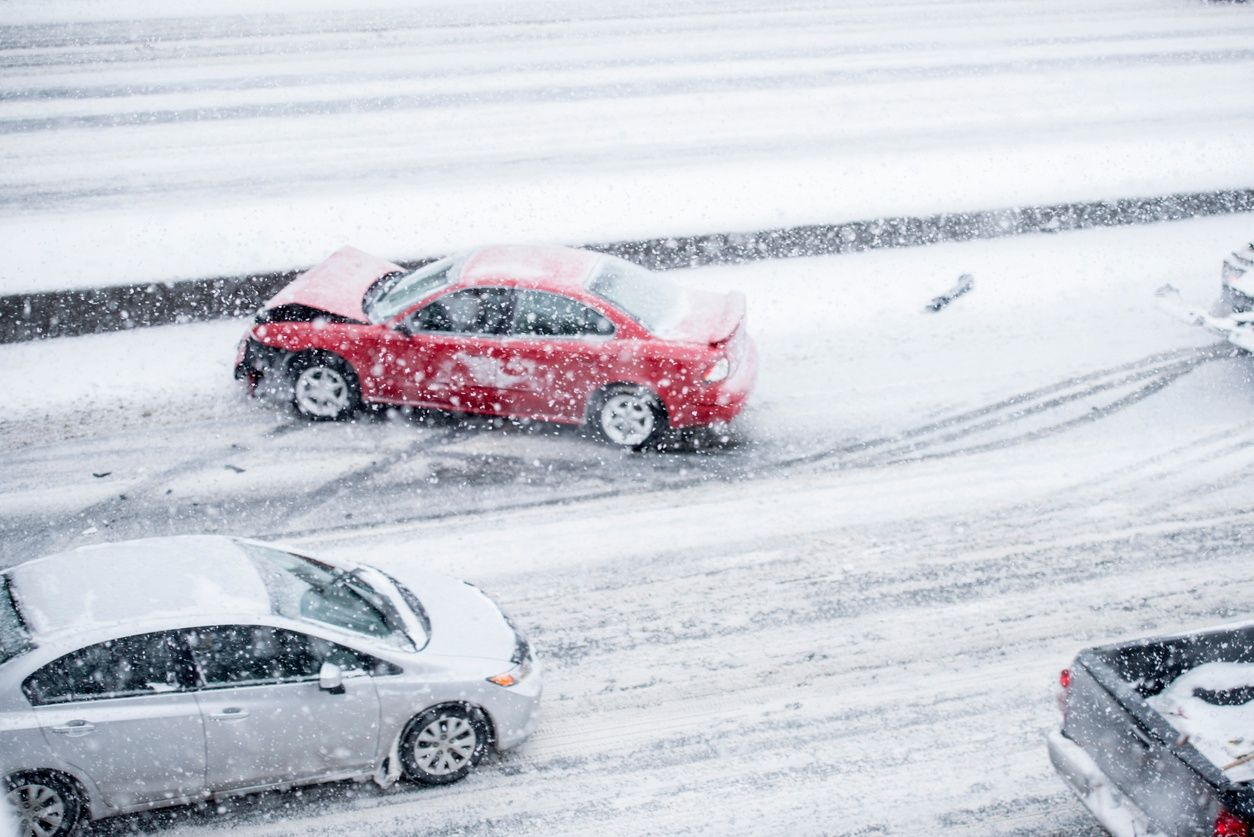 Accidents are more common this season due to inclement