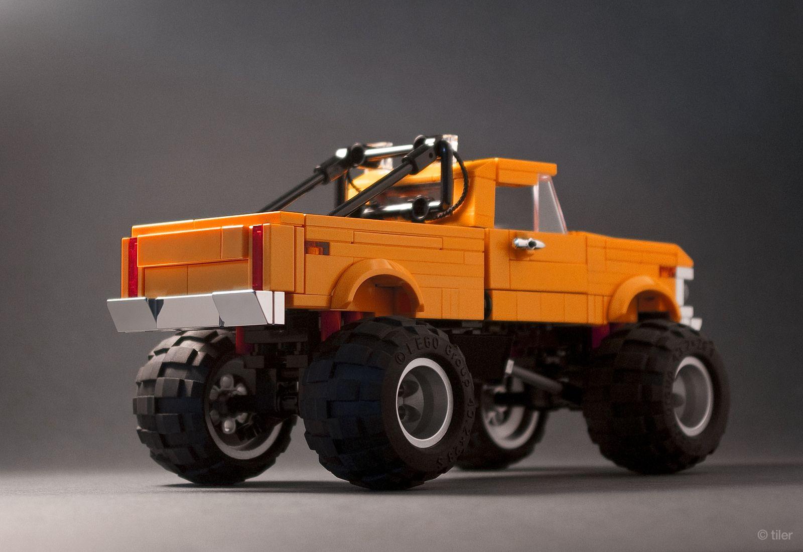 39 75 ford f250 truck 02 lego fahrzeuge lego fahrzeuge. Black Bedroom Furniture Sets. Home Design Ideas
