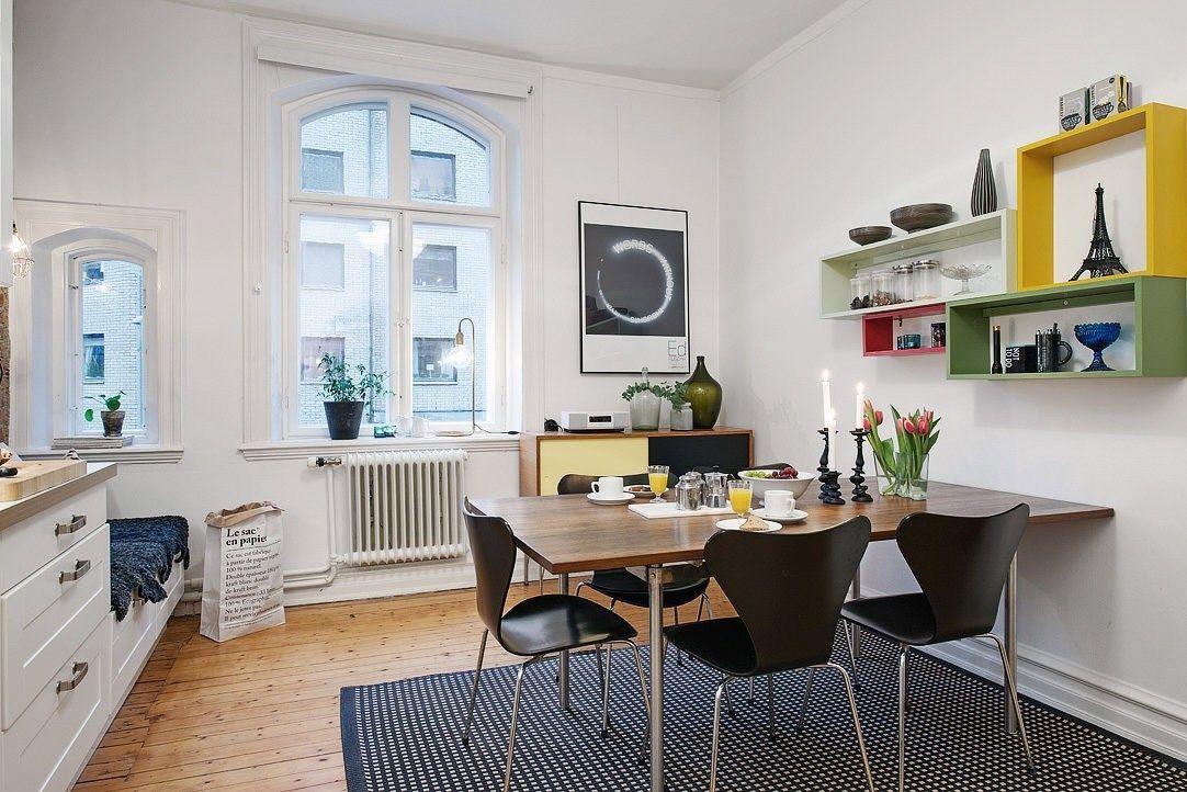 pisos pequeños nórdicos pisos 40 metros diseño estudio de 46 m²