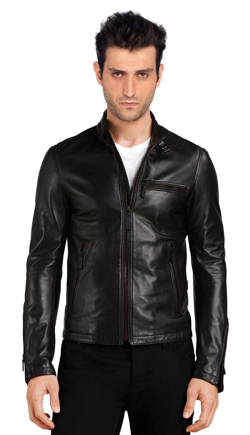 25 Best Leather Jackets For Men | Mens leather bomber jacket