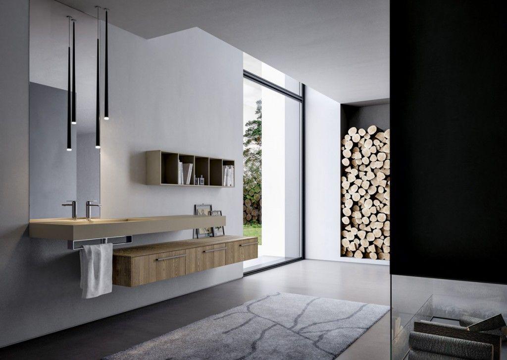 Ideen für ein schönes Bad - badezimmermöbel aus holz