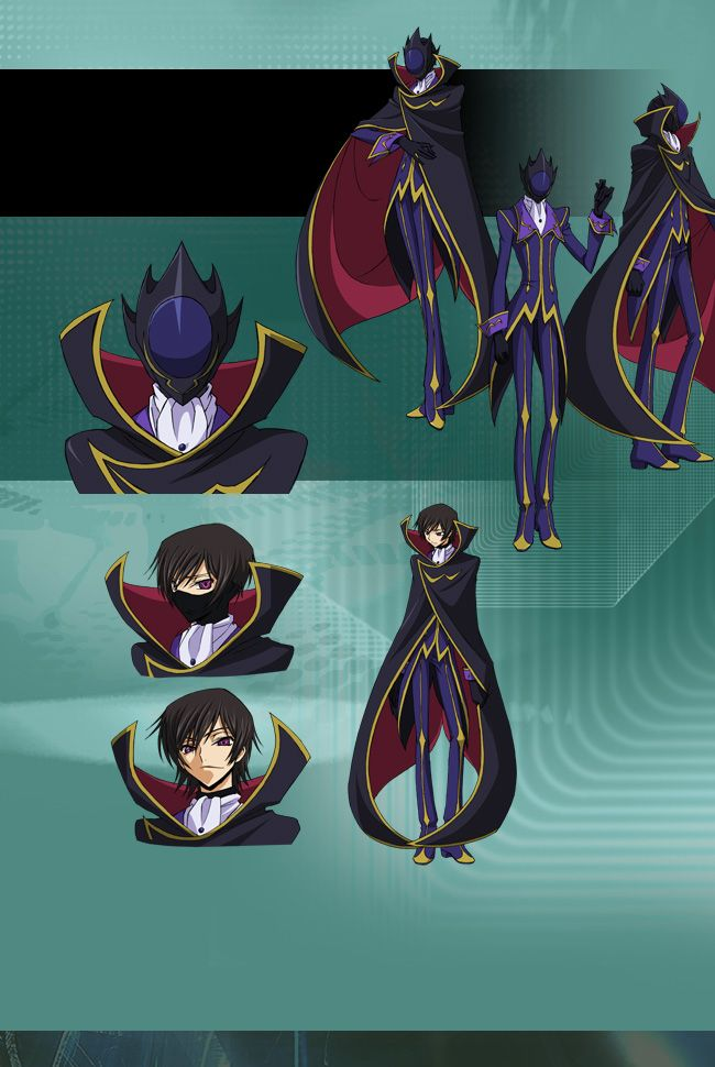 Zero from Code Geass: Lelouch of the Rebellion