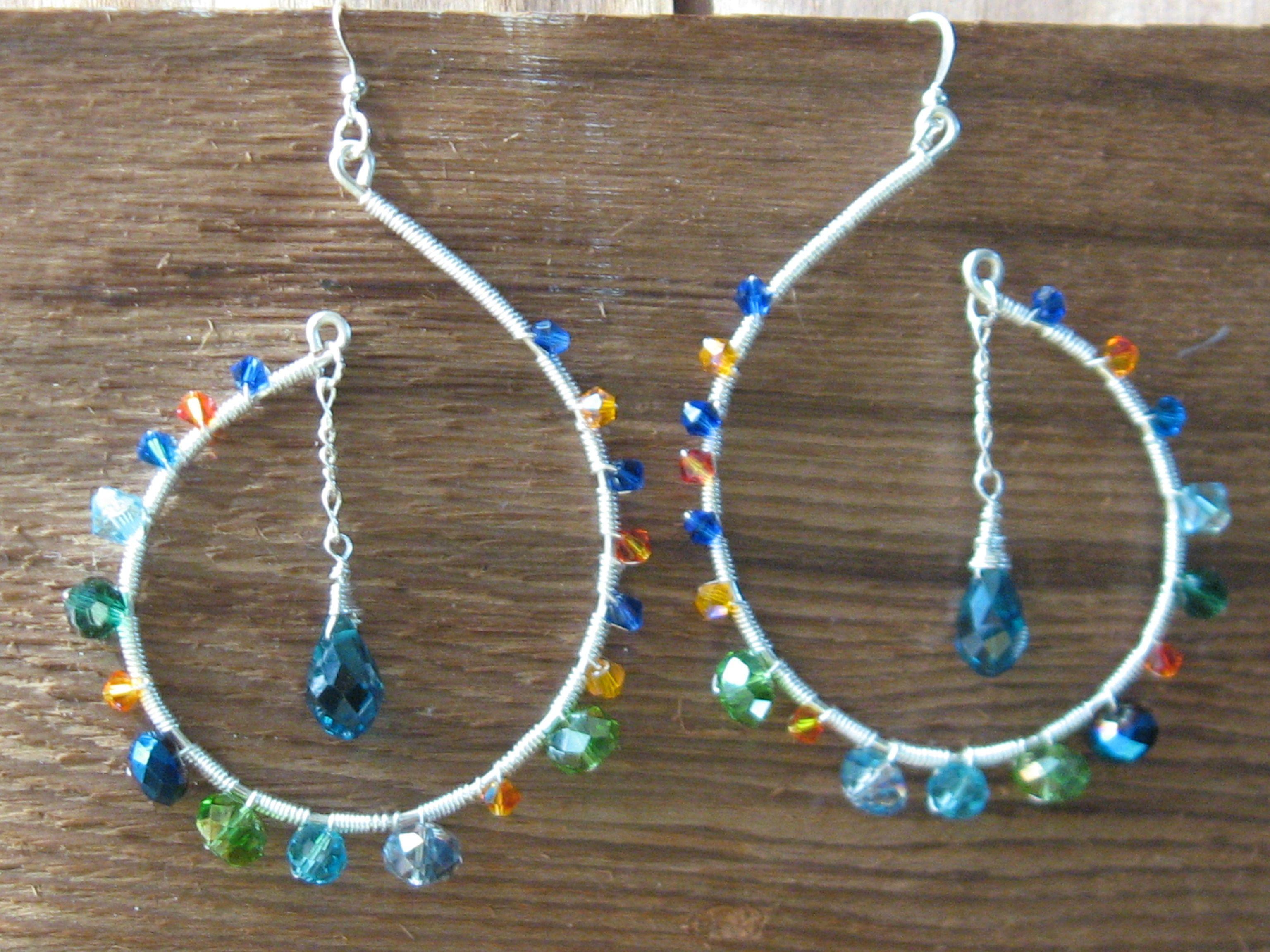 Half Moon Earrings - Tarajamu Designs