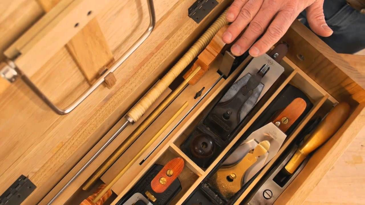 Take a tour of Fine Woodworking art director Michael Pekovich's heirloom tool…