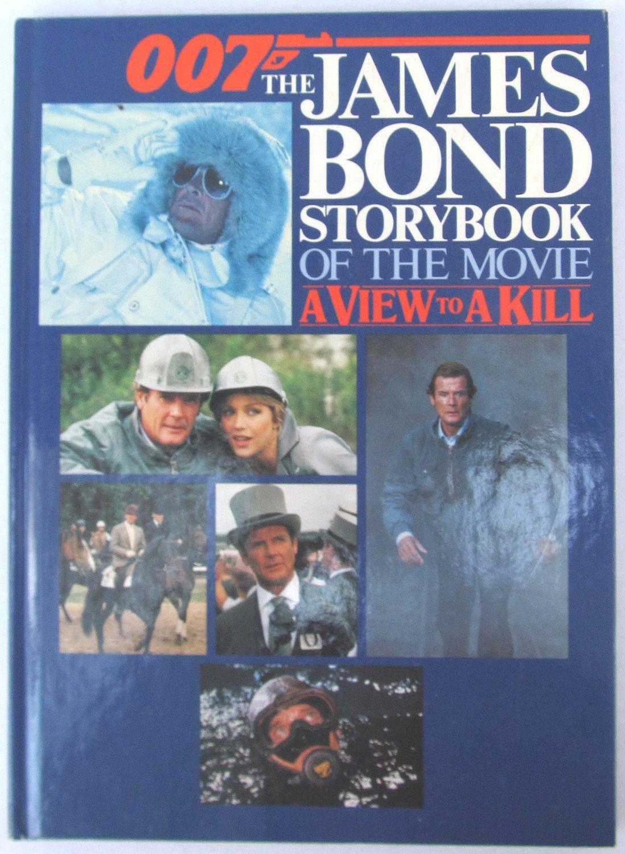 James Bond 007 A View To A Kill Roger Moore Tanya Roberts