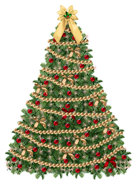 Transparent Small Deco Xmas Tree Png Clipart Pink Christmas Christmas Tree Clipart Christmas Clipart