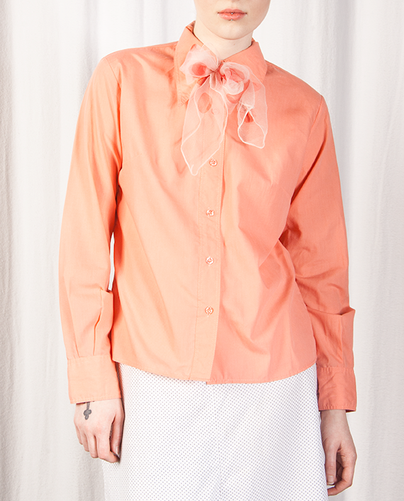 Peach Puff Long Sleeved Shirt