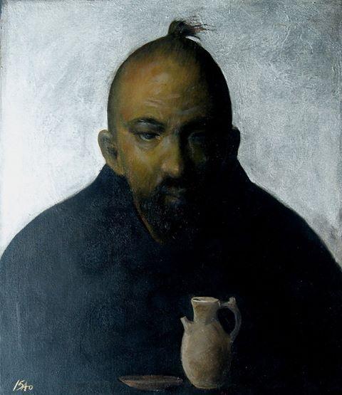 Isao Tomoda  45.5cmx52.6cm oil on canvas