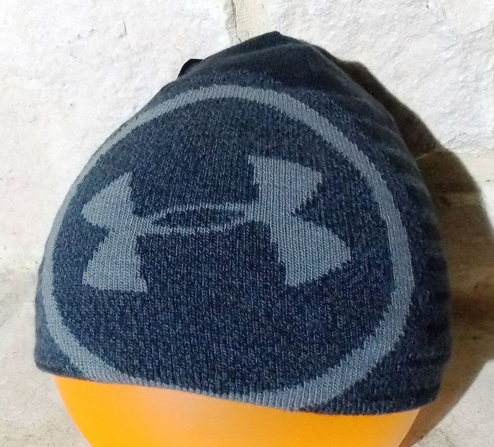 87393331e12 NWT Under Armour Mens Billboard 2.0 Beanie Cap Hat Black with Gray  fashion   clothing  shoes  accessories  mensaccessories  hats (ebay link)