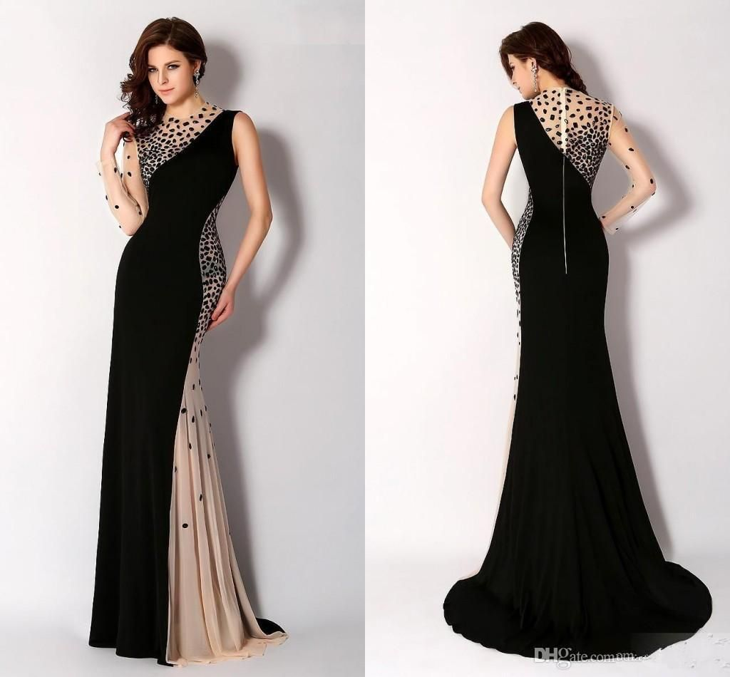 Emejing Long Black Evening Dress Size 18 Gallery - Mikejaninesmith ...