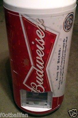 Budweiser Vending Fridge Refrigerator Cooler Bud Light Bar