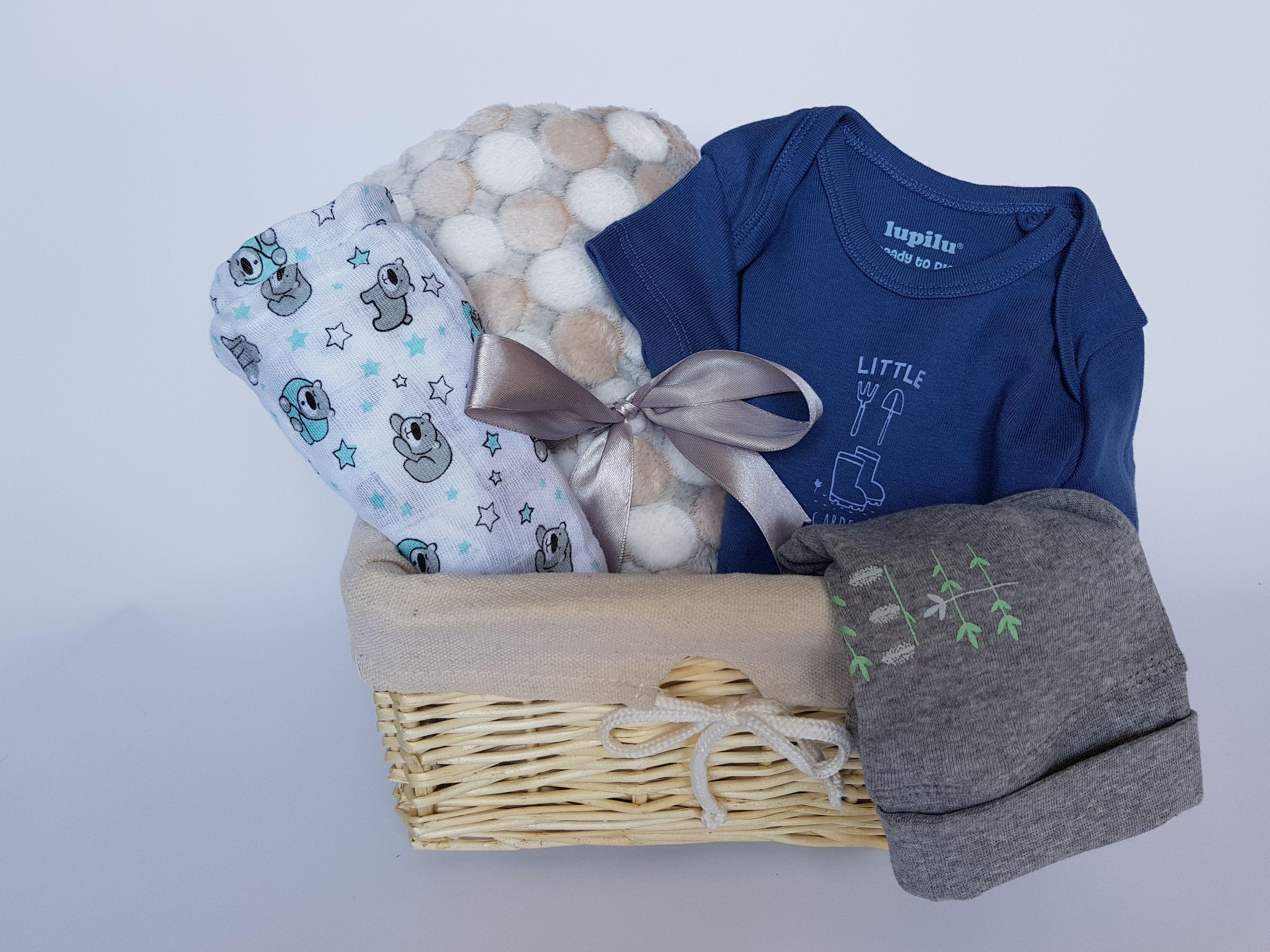 Zestaw Prezentowy Kosz Dla Dziecka Baby Shower 7441180101 Oficjalne Archiwum Allegro