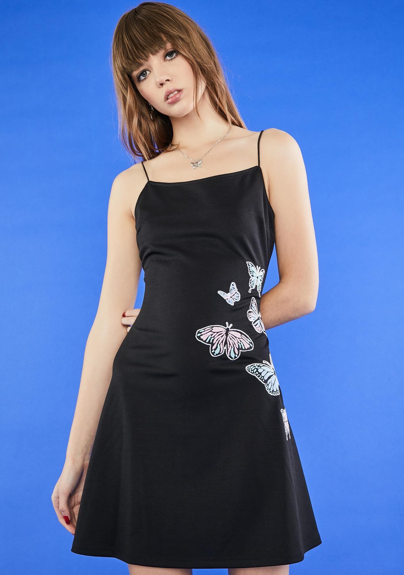 Butterfly Kiss Mini Dress Mini Black Dress Flare Mini Dress Mini Dress [ 2000 x 1405 Pixel ]