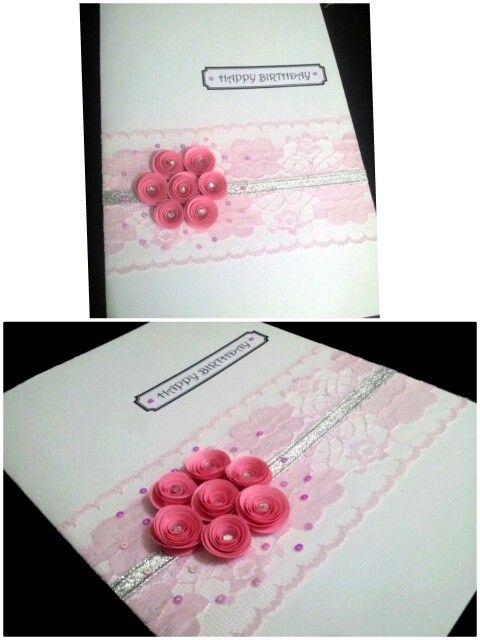 Luxury Handmade Birthday Card Handmade Cards Pinterest