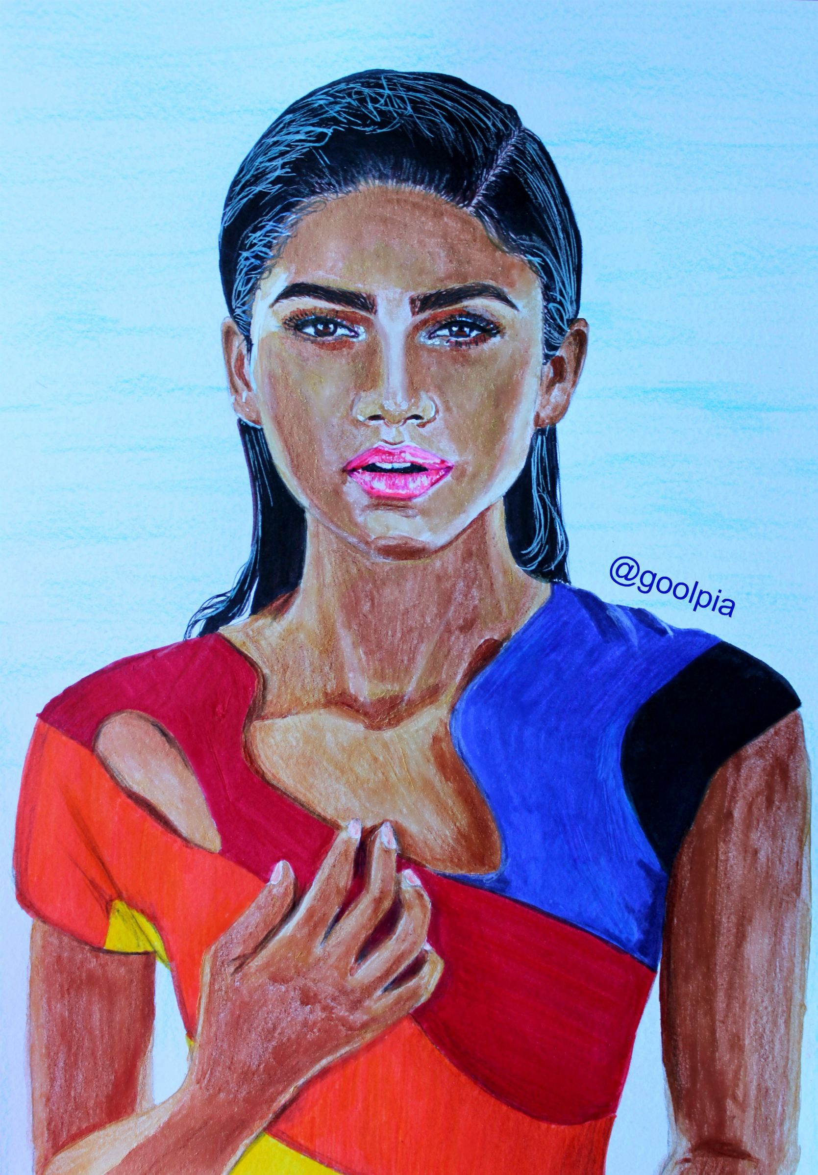 Zendaya Coleman, my art, drawing, fan art, MJ, Spider-man ...