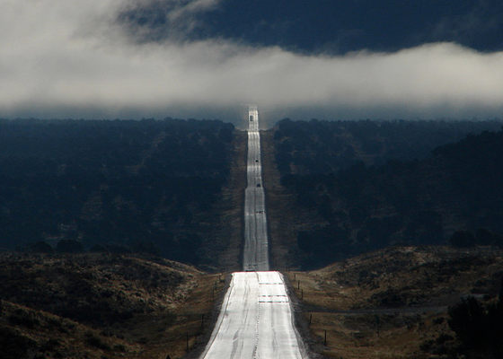 a road leading to...heaven?