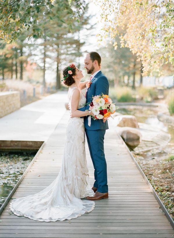 Myriad Botanical Gardens Wedding Mrs Box Bright Colorful Details Ideas Bridesmaids 6
