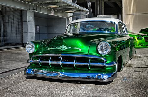 Candy Green '54 Chevy Custom | Candy Green '54 Chevy Custom #6 – Forged Photography