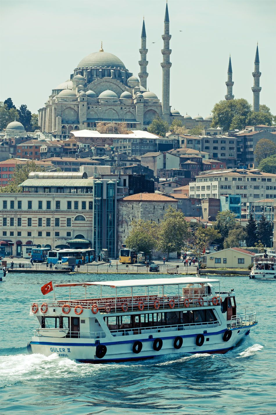 Take a cruise on The Bosphorus  |  The Top 5 Things to do in Istanbul