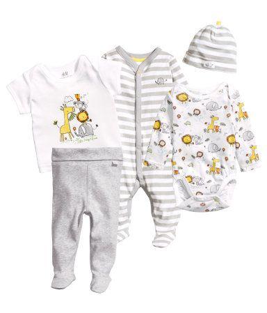 Nyfödd baby set