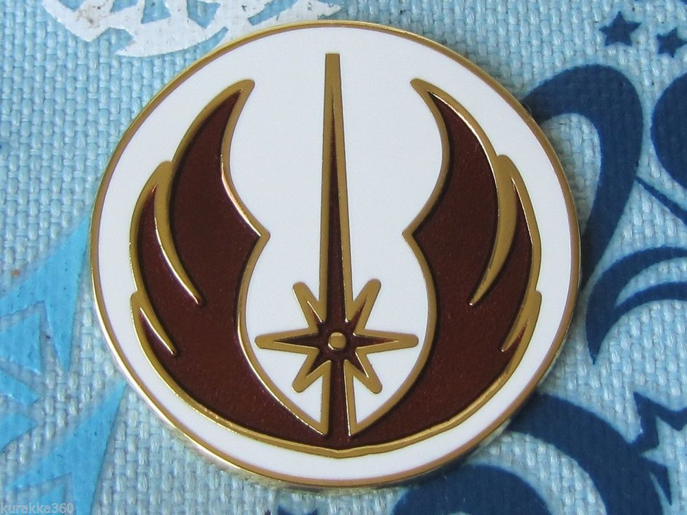 For My Disney Trading Pin Collection Star Wars Jedi Order Symbol