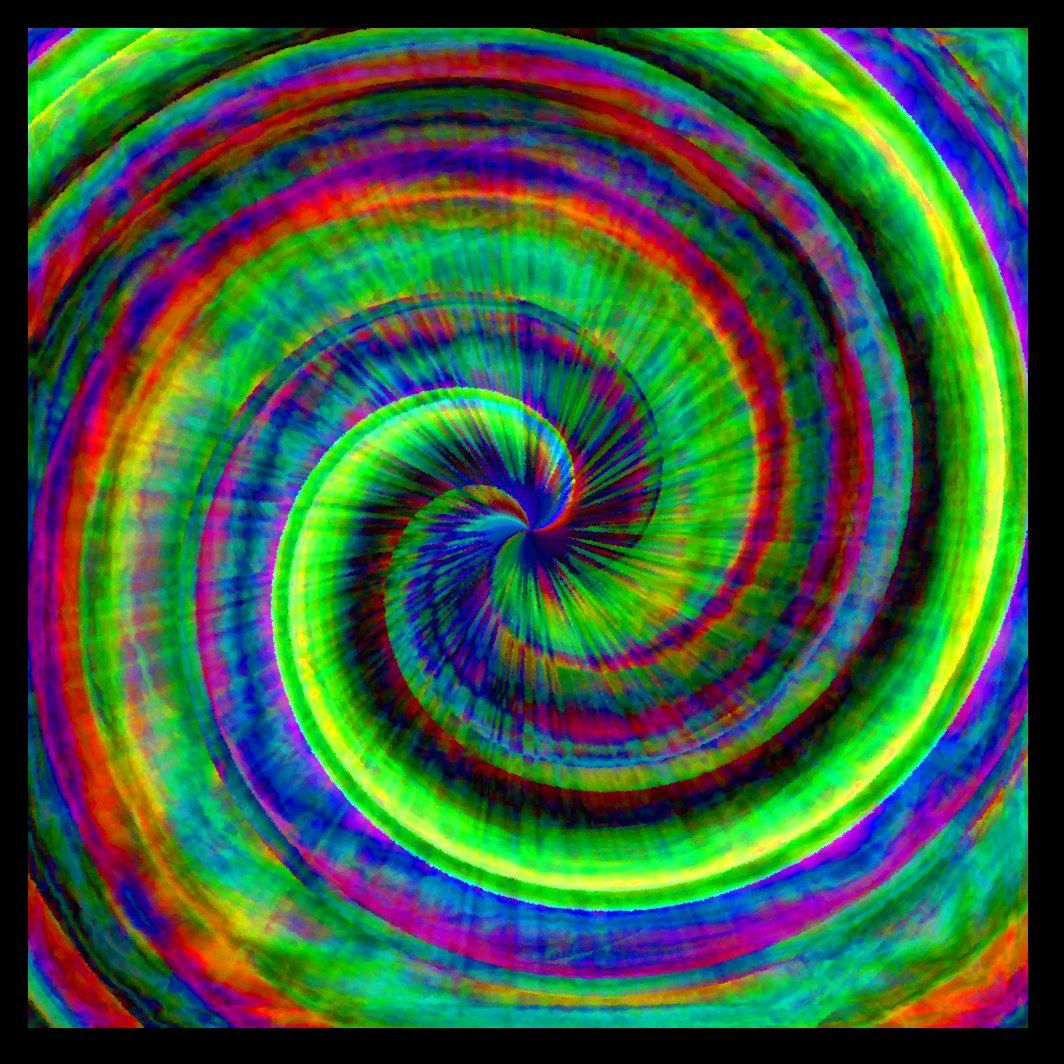 Mature Subculture Hippie Trippy Psychedelic Tie Dye Rainbow Swirl Giclée Printed Art Sew on 3 x 3in Twill Back Patch Craft FREE S/H MBG. $4.00, via Etsy.