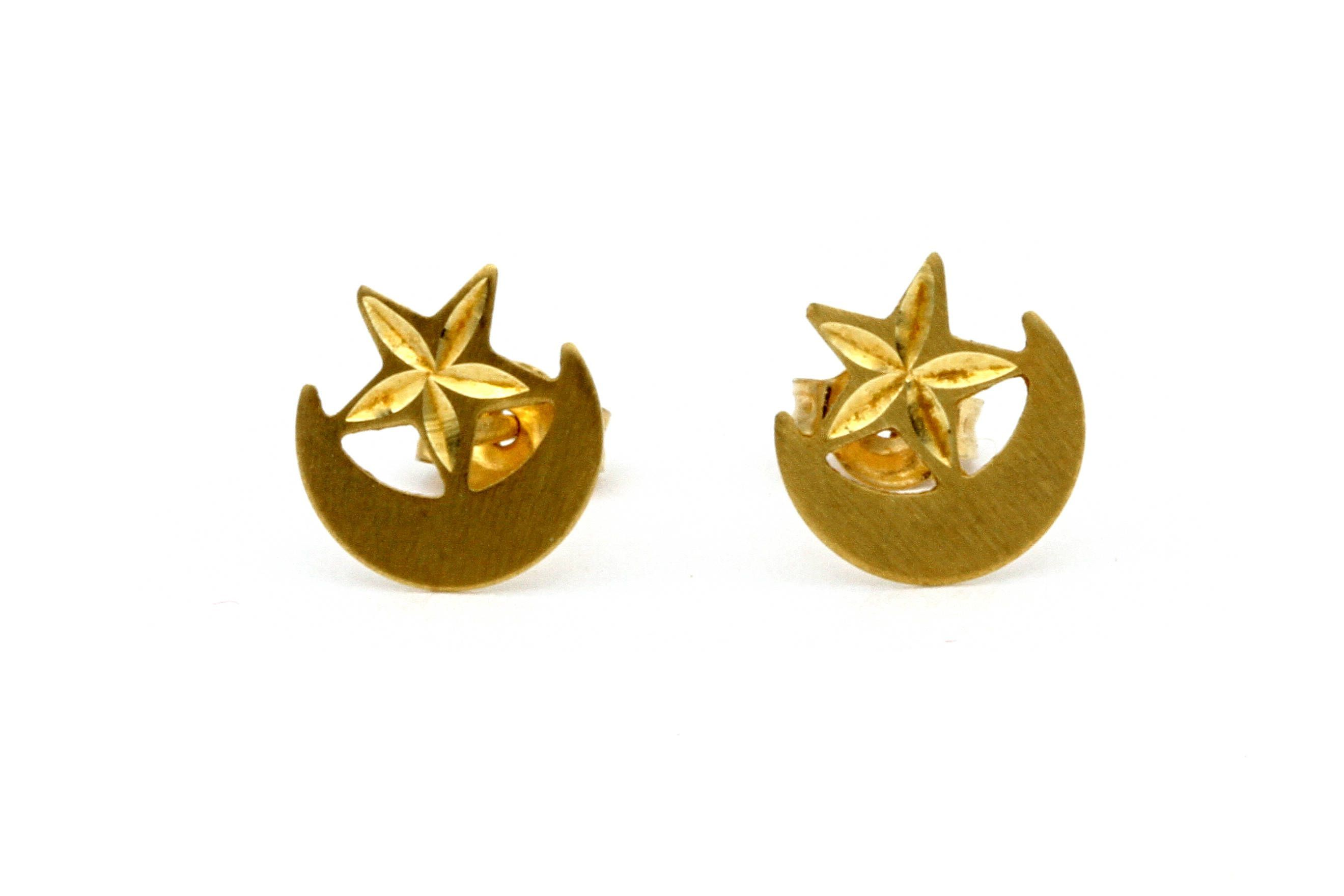 rose view baby gold ginette earrings stud lyst jewelry ny diamond fullscreen in ever