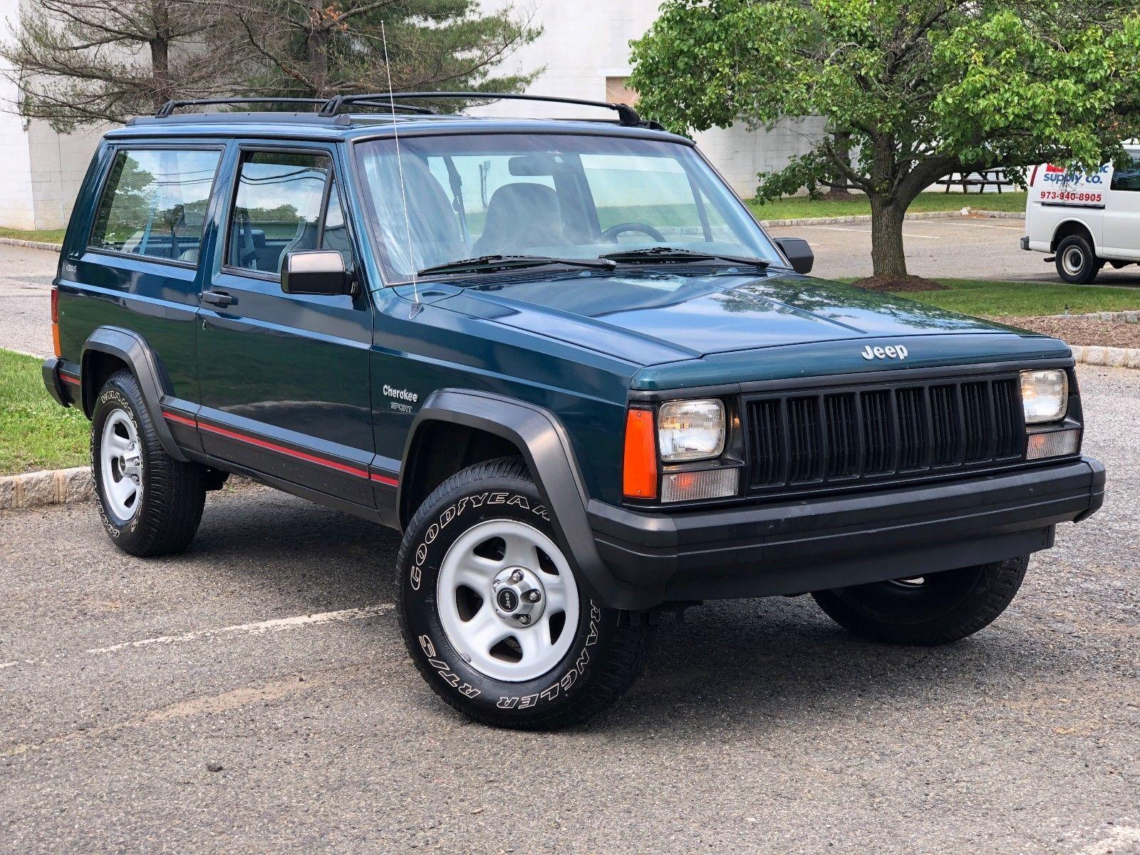 1995 Jeep Cherokee Cherokee 2 Door Sport 4wd 4 0l 2 Dr Jeep Cherokee Jeep Cherokee