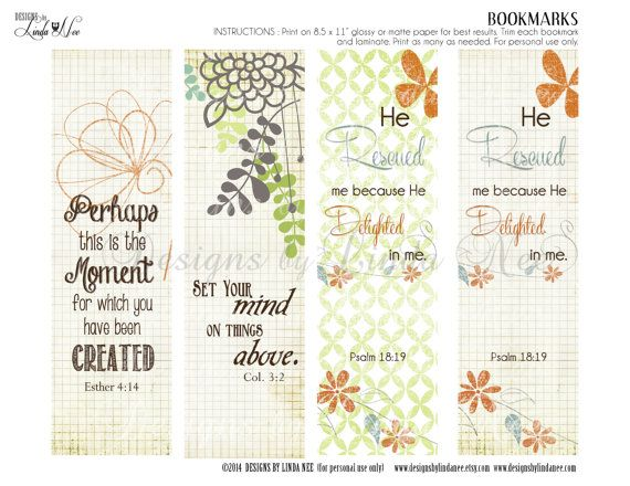 photograph relating to Printable Christian Bookmarks known as BOOKMARKS ~ Printable CHRISTian Scripture 7 BOOKMARKS