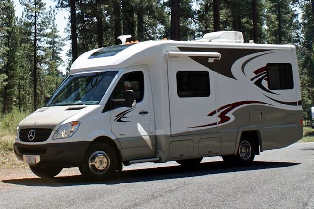 Class c motor homes are fairly easy to drive compared to for Used motor homes class c