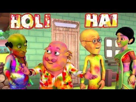 Holi Hai Bhai Holi Hai Motu Patlu New Episode In Hindi 3d