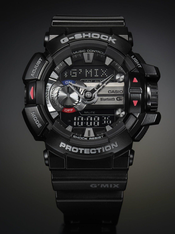 b7d1bca5928d Amazon.co.jp   カシオ CASIO 腕時計 G-SHOCK Bluetooth搭載 G MIX GBA-400-1AJF メンズ   腕時計通販