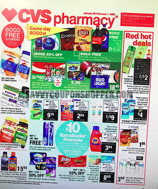 Cvs Ad Preview 1 26 2 1 Free Hair Care More Free Hair