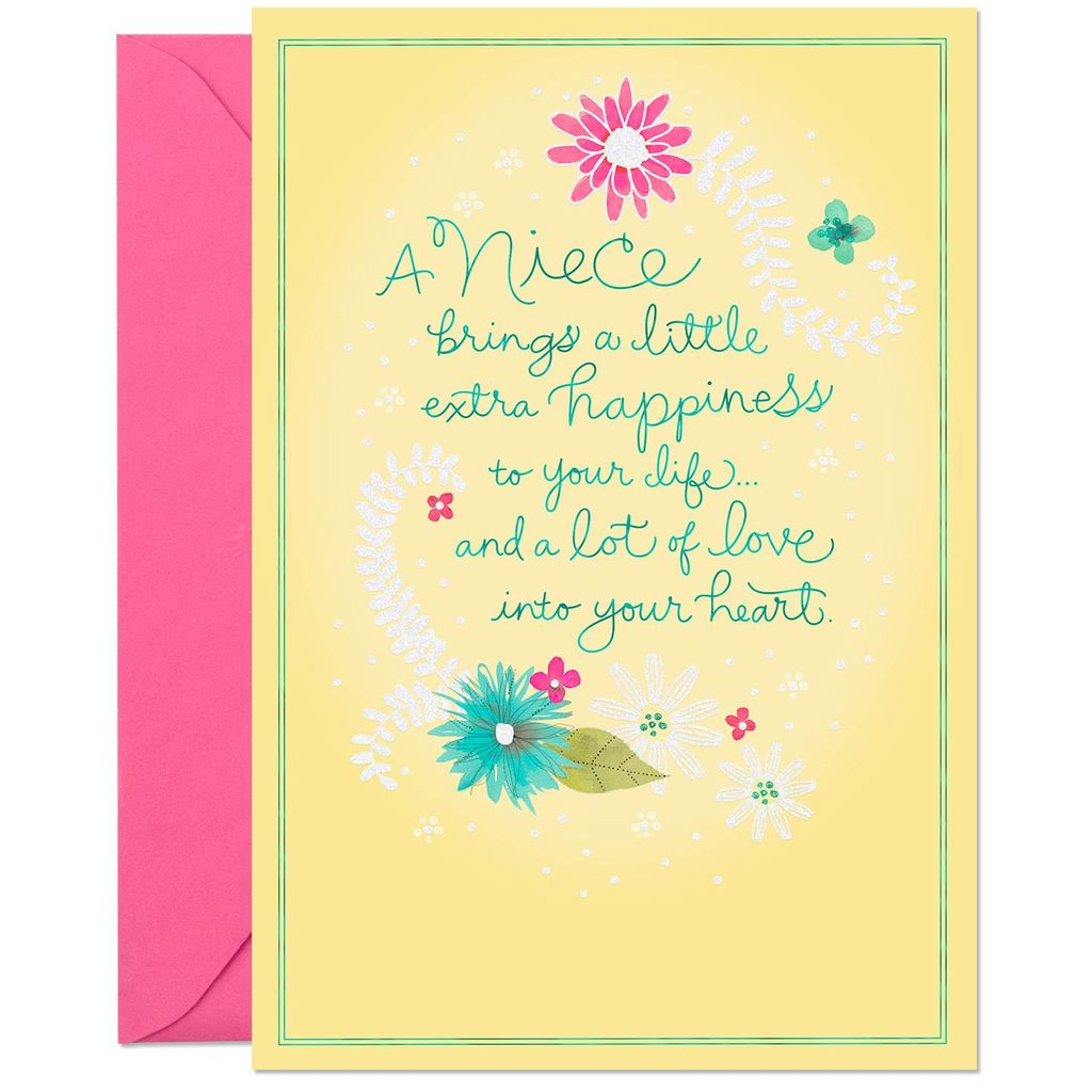 Lots Of Love Birthday Card For Niece Greeting Cards Hallmark Aunt Penelope Birthday Cards For Niece Love Birthday Cards Birthday Cards