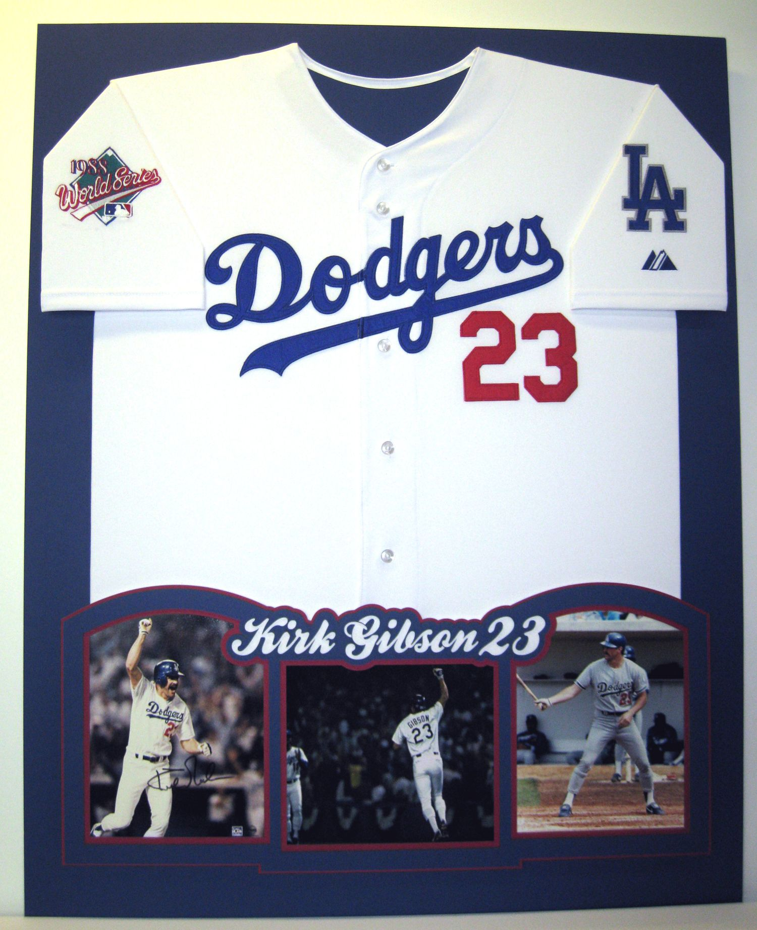 the best attitude aa293 2ae42 Kirk Gibson Dodgers jersey   Our Work   Kirk gibson, Custom ...