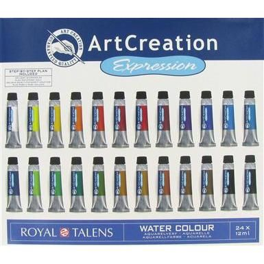 Artcreation Expression Watercolor Set Price 16 99 Watercolor