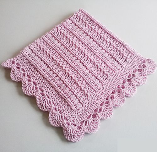 Mayflower Baby Blanket Free Crochet Pattern Baby Pinterest