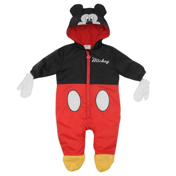 Disney Baby Boy Mickey Mouse Padded Winter Suit  8fa263e46971