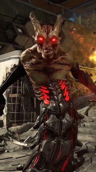 Doom Eternal, Monsters, 4K,3840x2160, Wallpaper (With