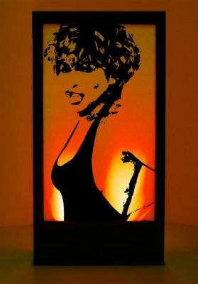 Event Prop Hire: Tina Turner Silhouette Panel | 80's Party ...
