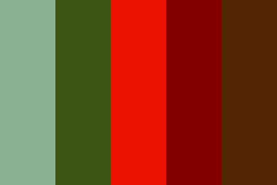 Red Green And Brown Color Palette Colorpalette Colorpalettes Colorschemes Colorcombination C Brown Color Palette Christmas Color Palette Red Color Schemes