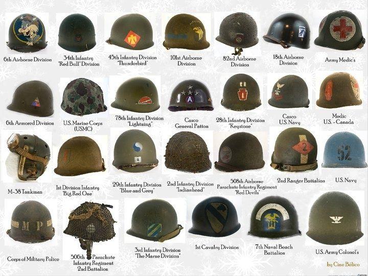 M1 Helmet Unit Markings | I I  Graphic Novel Inspirations | War, Ww2