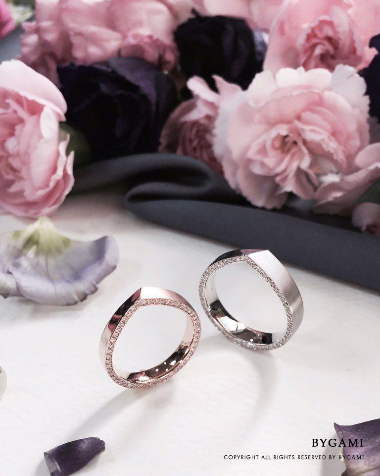 Objet Couple Ring BYGAMI 바이가미 바이가미웨딩 바이가미
