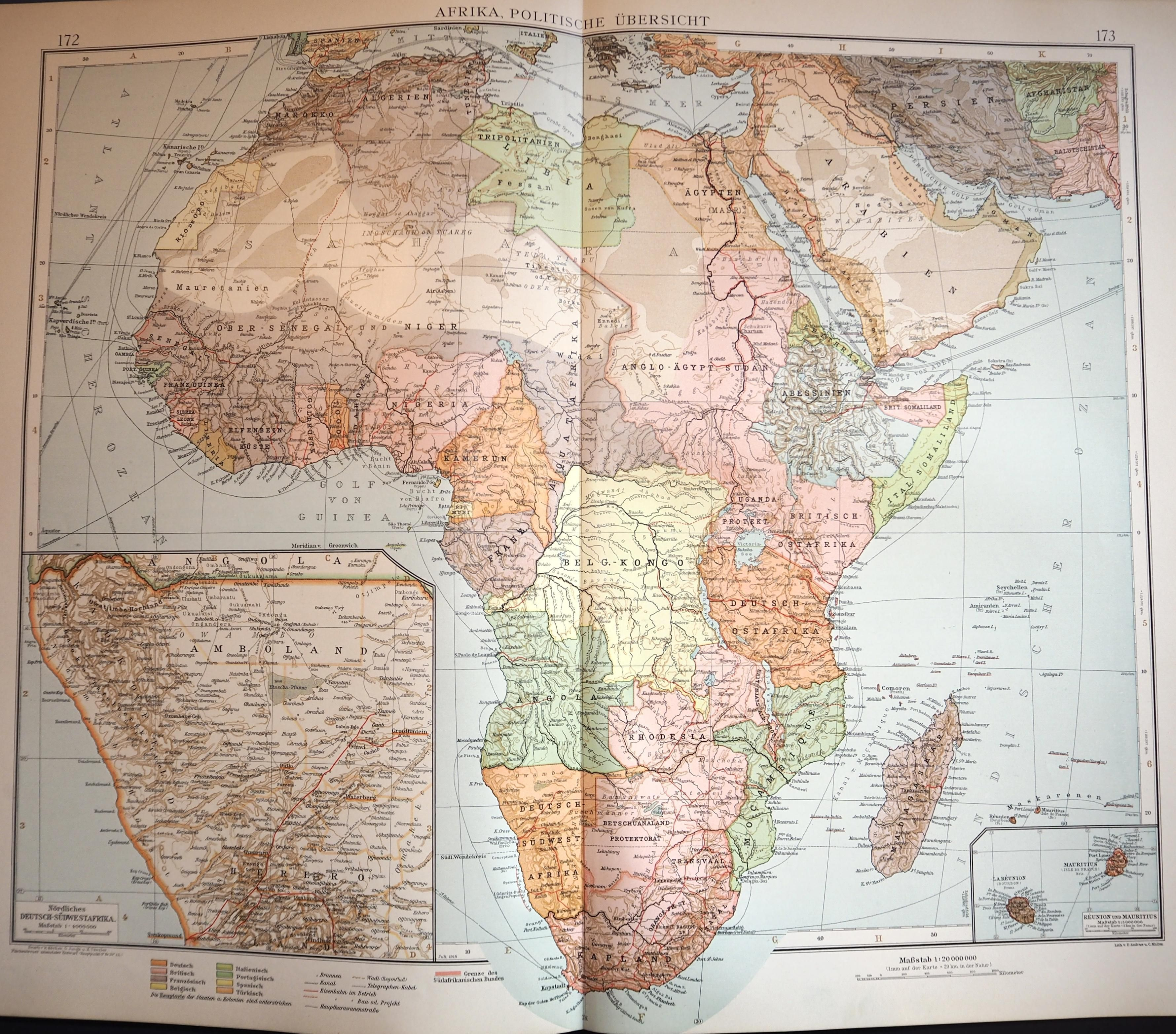 Found an old atlas at my grandaunts home every country of africa is found an old atlas at my grandaunts home every country of africa is colonized gumiabroncs Images