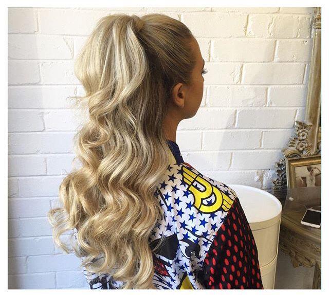 Half up half down ponytail by Natalie Anne Hair | Simple ...